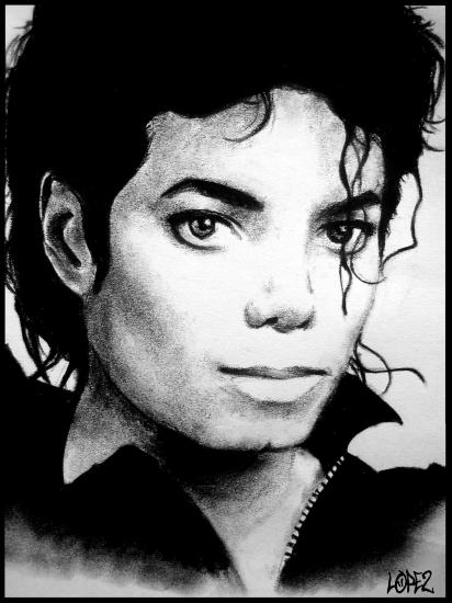 Michael Jackson par Montaine
